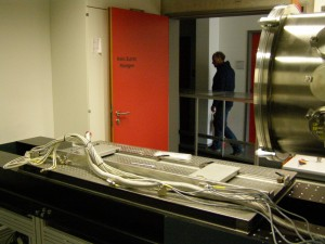 Deinstallation of the old primary instrument part (18.03.2015)